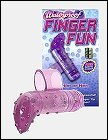 Fun finger vibrator