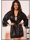 Klassisk satin robe